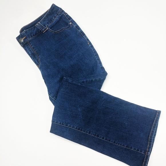 50921c34ff8e3 Lane Bryant Denim - Lane Bryant 20 Slim Boot Cut Genius Fit Jeans g